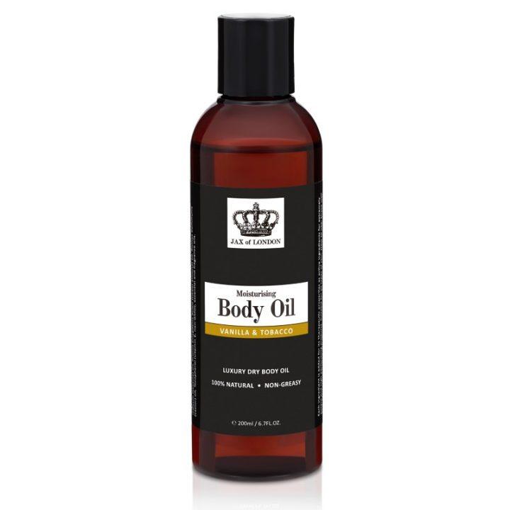 Vanilla & Tobacco Body Oil