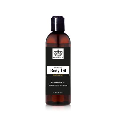 Black Orchid Inspired Body Oil by Jax of London