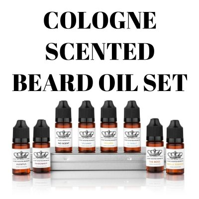 Jax Inspired 8 bottle Beard Oil set