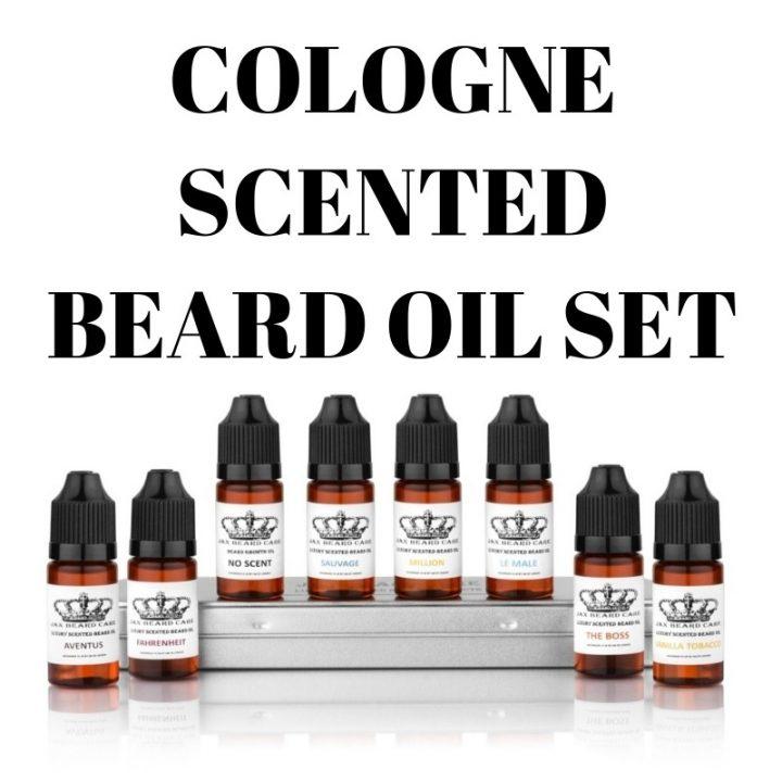 Jax Inspired 8 bottle Beard Oil set