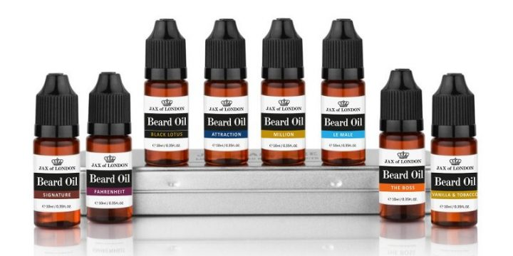 Cologne Inspired Beard Oil 8 Bottle Gift Set