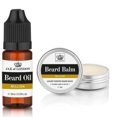 One Million Inspired Beard Balm & Beard Oil Set