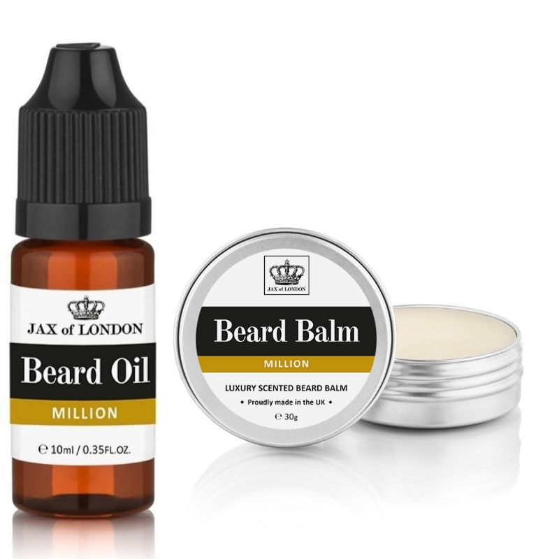 One Million Inspired Beard Balm & Beard Oil Set