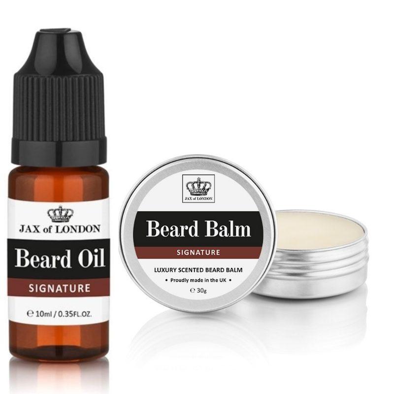 Signature Cologne Beard Balm & Beard Oil Set