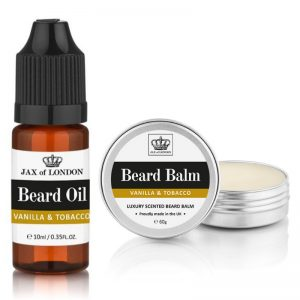 Vanilla and Tobacco Cologne Beard Balm & Beard Oil Set