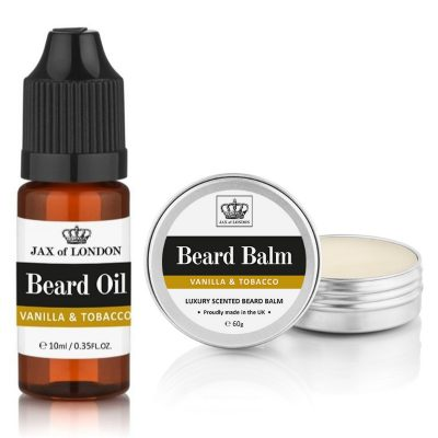 Tobacco & Vanilla Inspired Beard Balm & Beard Oil Set
