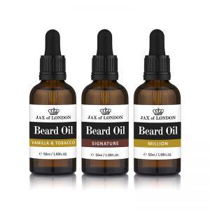 Cologne Fragrance Three Beard Oil Gift Set Beard Oils 50ml