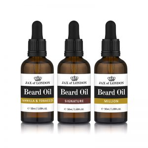 Three Cologne Beard Oil Set