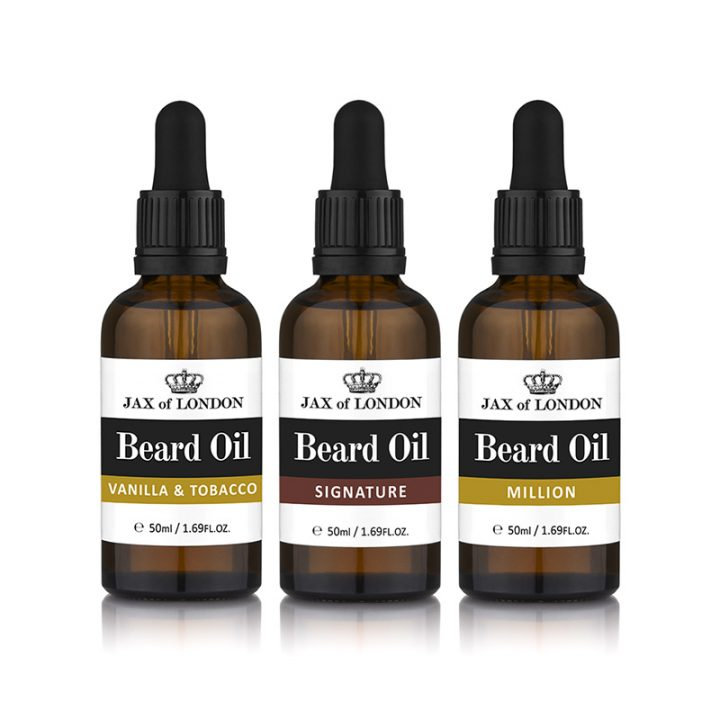 Cologne Fragrance Three Beard Oil Gift Set Beard Oils 50ml