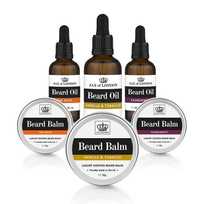 Jax of London Cologne Inspired Beard Oil & Beard Balm Gift Set