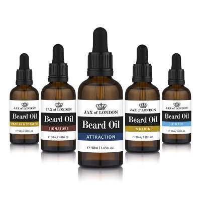 Cologne Fragrance Five Beard Oil Gift Set