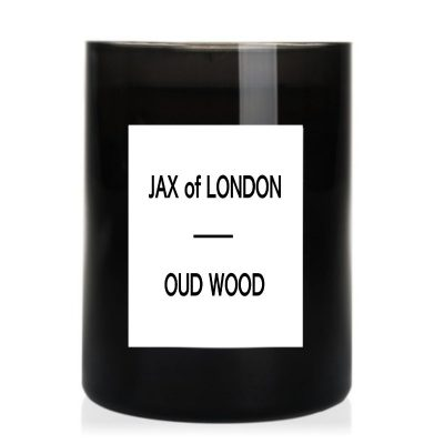 Oud Wood Soy Candle by Jax of London