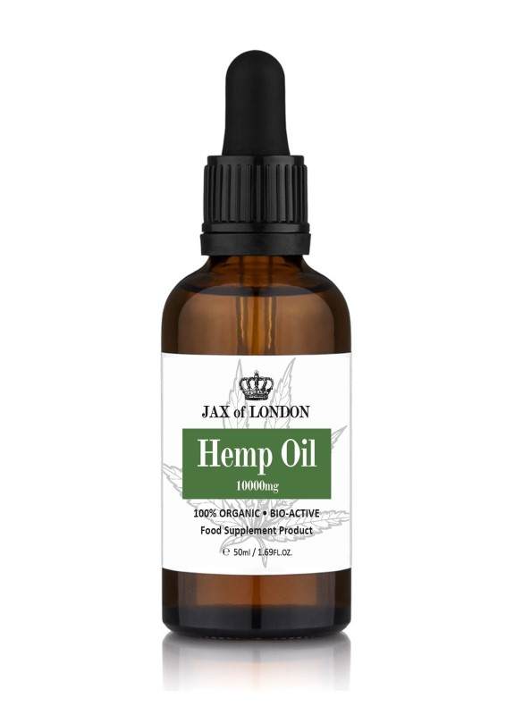 Hemp Oil High Strength 10000mg 50ml Dropper Bottle