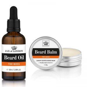 Inspired Beard Oil 50ml & Beard Balm 60g Set