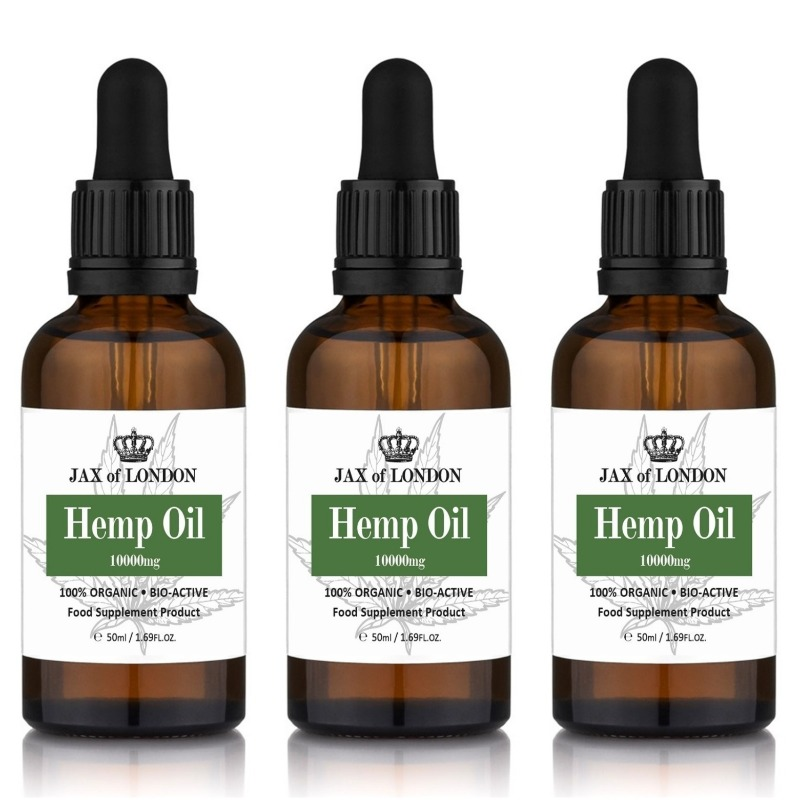 Hemp Oil 10000mg 3 Bottle Multi Packs