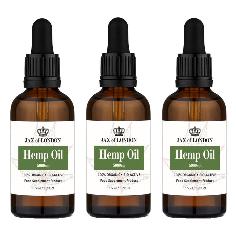 Hemp Oil 5000mg Multi Packs