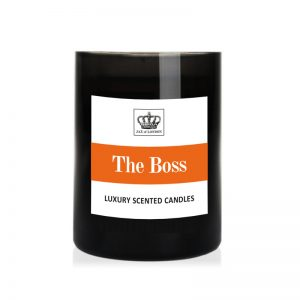 The Boss Cologne Candle