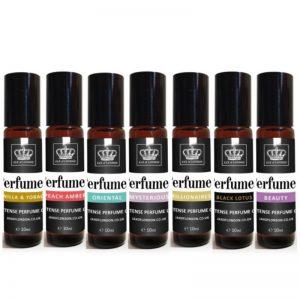 3 x Perfume Oil Set Intense 10ml