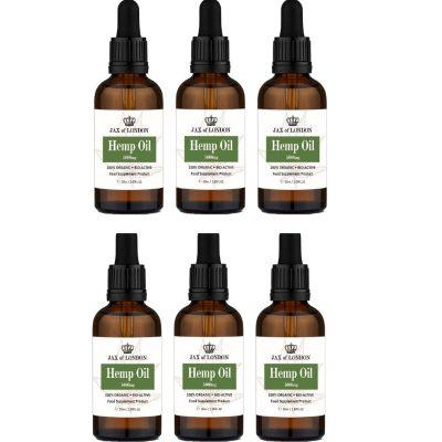Hemp Oil 5000mg 6 Bottle Multi Packs